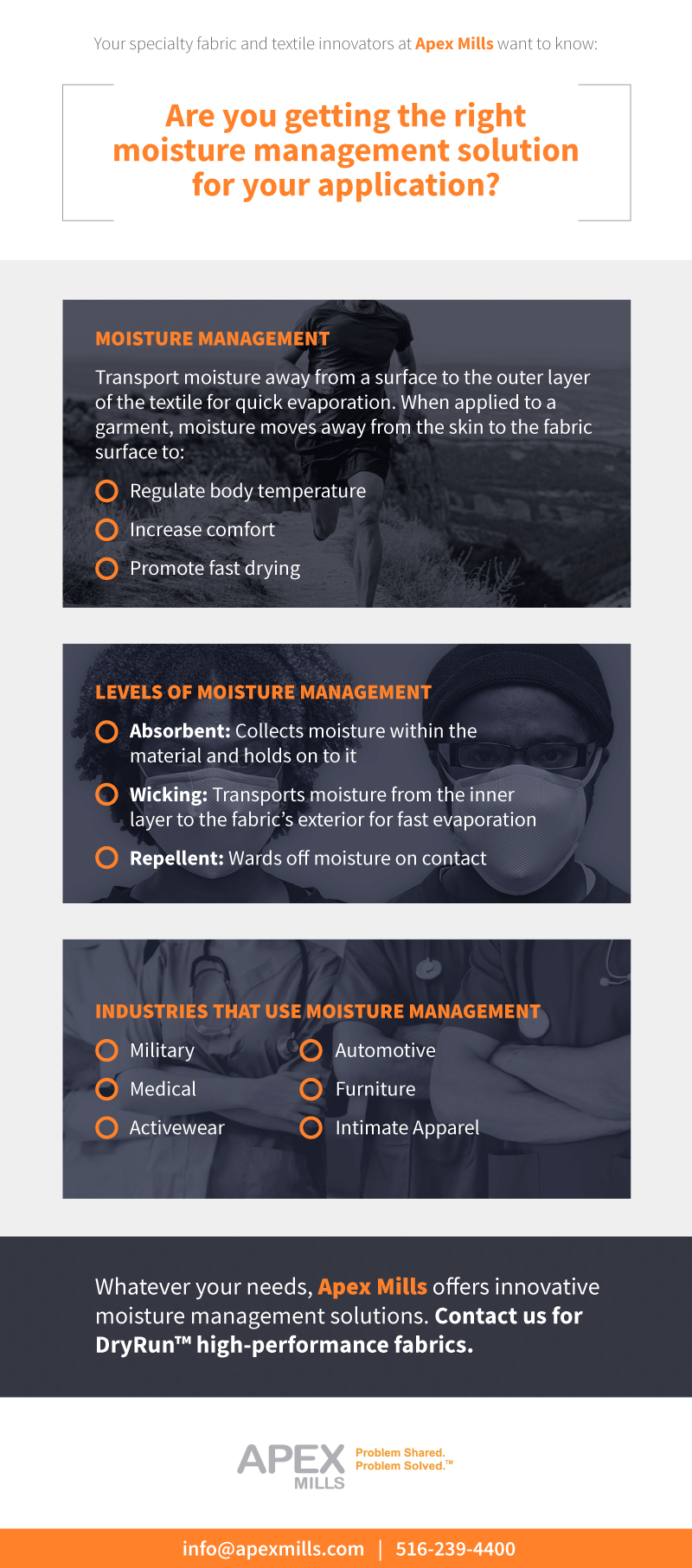 Advanced Moisture Management